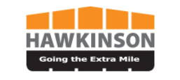 Logo for Hawkinson, a Fredricks Communications client and tire treading and retreading equipment manufacturer based in West Fargo, ND