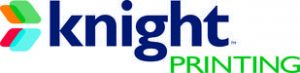 Logo of Knight Printing, Fargo ND