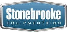 Logo for Minneapolis-based Stonebrooke Equipment, a work vehicle upfitter for individual operators and fleets.
