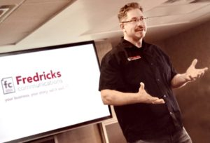 Martin Fredricks advertising marketing public relations