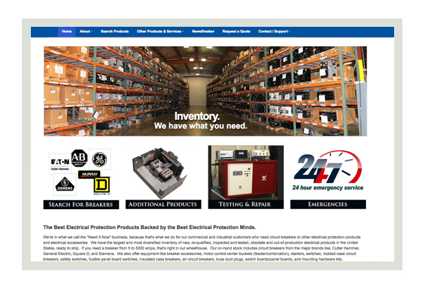 RG Industries homepage thumbnail