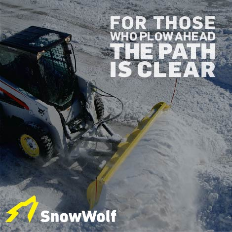 SnowWolf social media post by Fredricks Communications