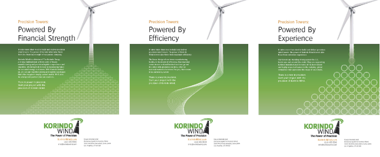 Korindo Wind ads by Fredricks Communications