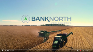 "Screenshot of BankNorth 30-second TV spot, ""Always True"""