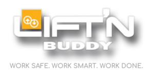 Lift'n Buddy logo with tagline