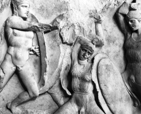 """Stolen Greeks"" image by Martin C. Fredricks IV"