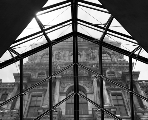 """Diamond Louvre"" image by Martin C. Fredricks IV"
