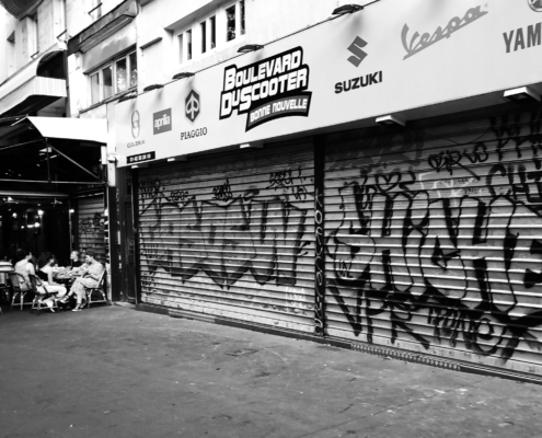 """French Graffiti"" image by Martin C. Fredricks IV"