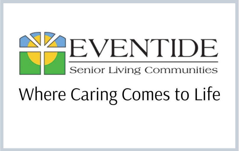 Graphic of Eventide logo plus tagline